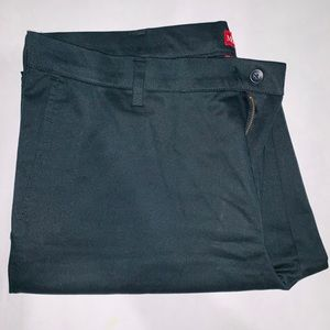 Mens Merona Pants. All Black, size 38x32.